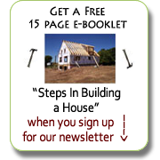 Small House Building newsletter sign up.
